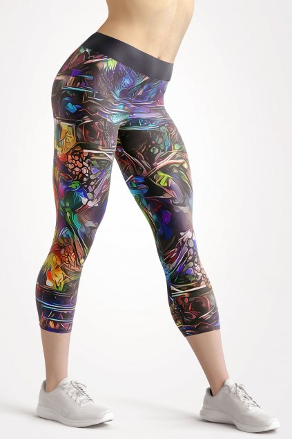 psycho future 3 4 leggings front by utopy