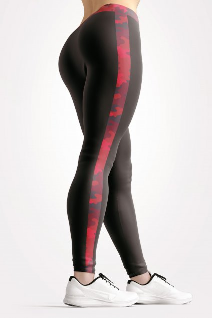 basic collection black camu leggings back by utopy v2