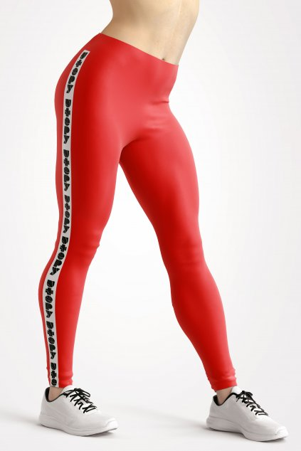 basic collection red utopy leggings front by utopy v2