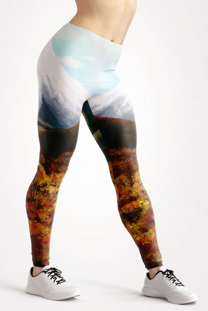 mountain valley leggings front by utopy