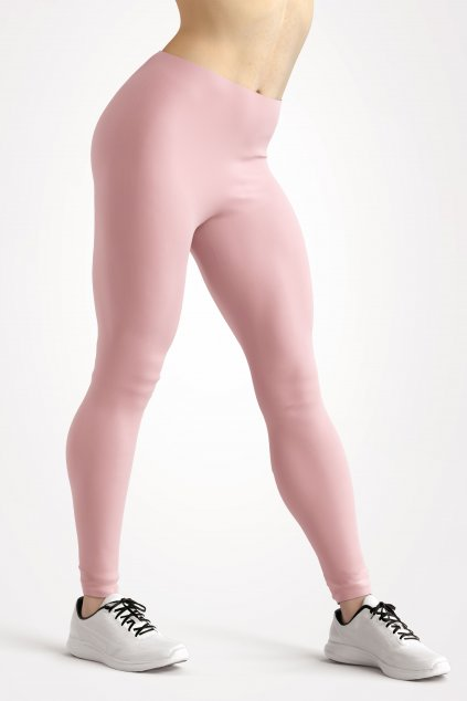 leggings shell pink essentials front side by utopy