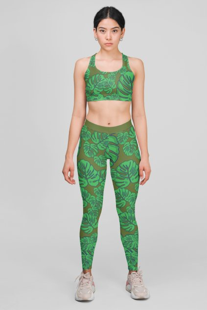 mockup featuring a woman wearing a sports bra and leggings at a studio 28720 (38)