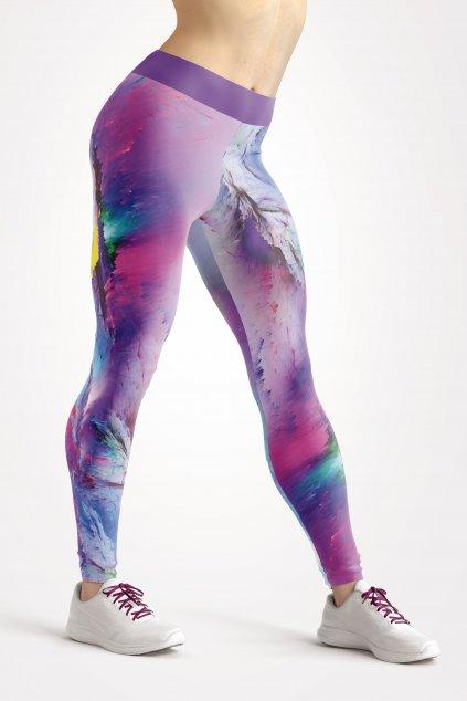 žena barevné legíny UTOPY Aurora