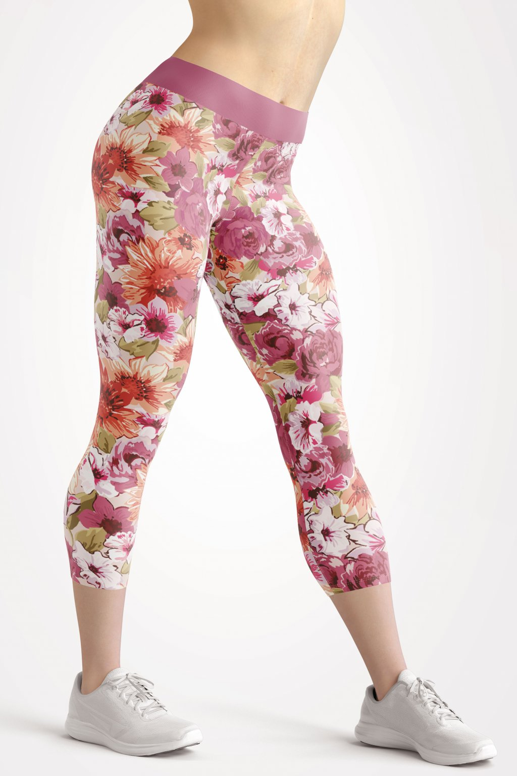 rozes 3 4 leggings front by utopy