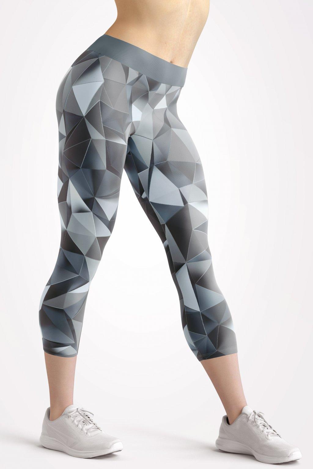 silver soul 3 4 leggings front by utopy