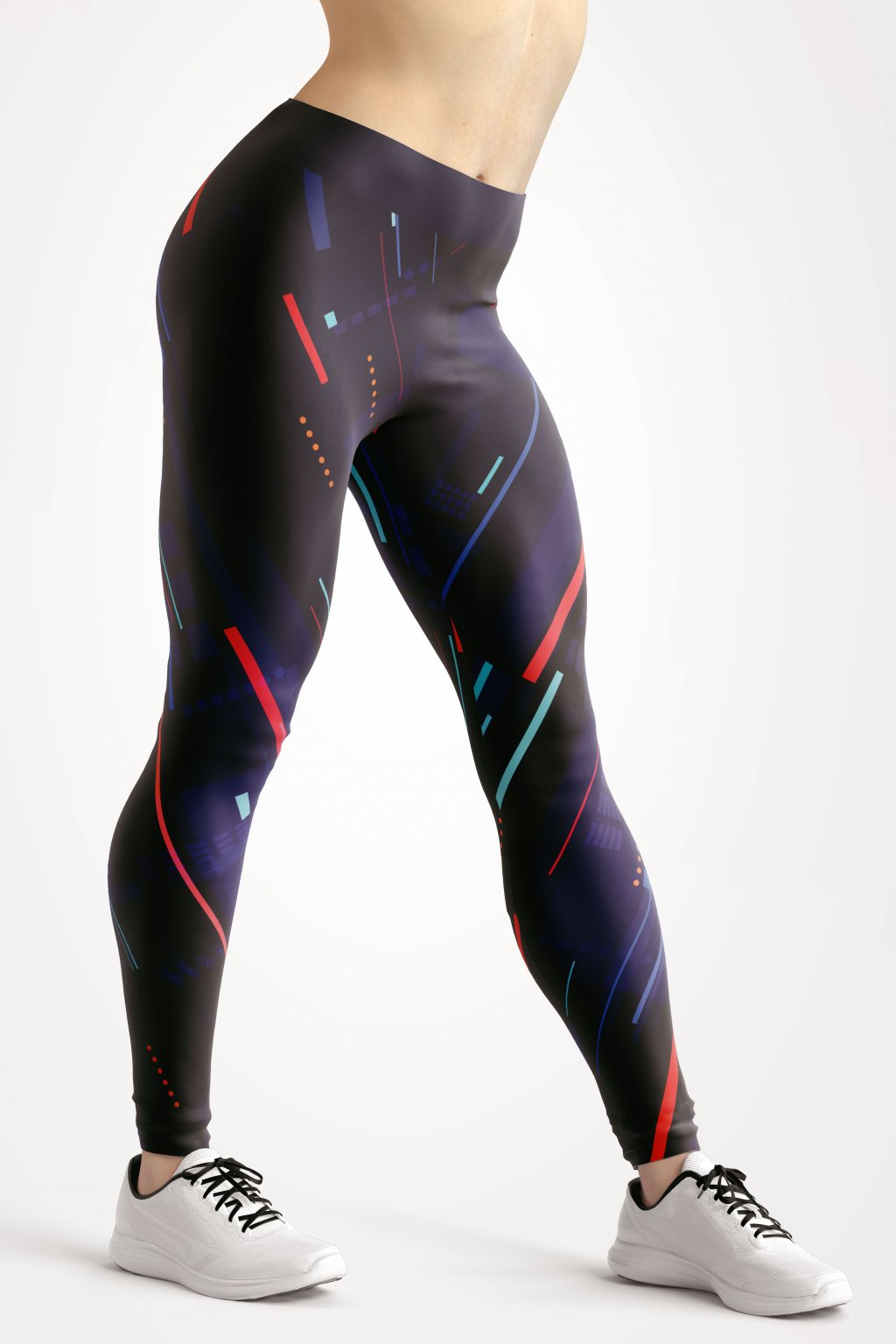 night district leggings front by utopy