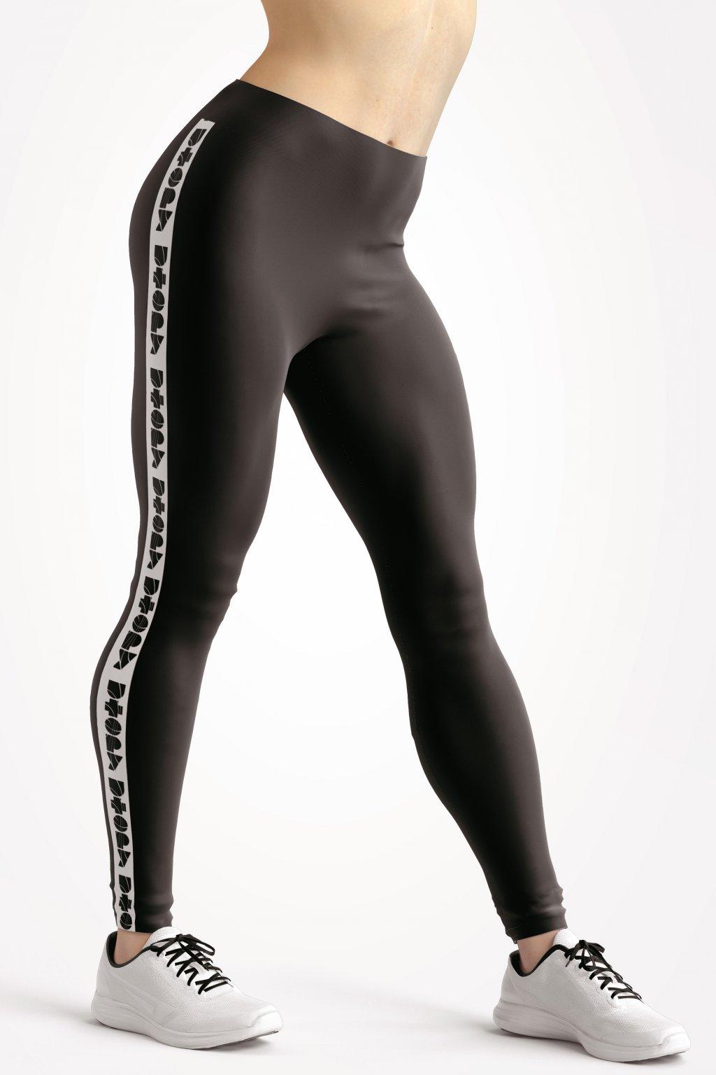 basic collection black utopy leggings front by utopy v2