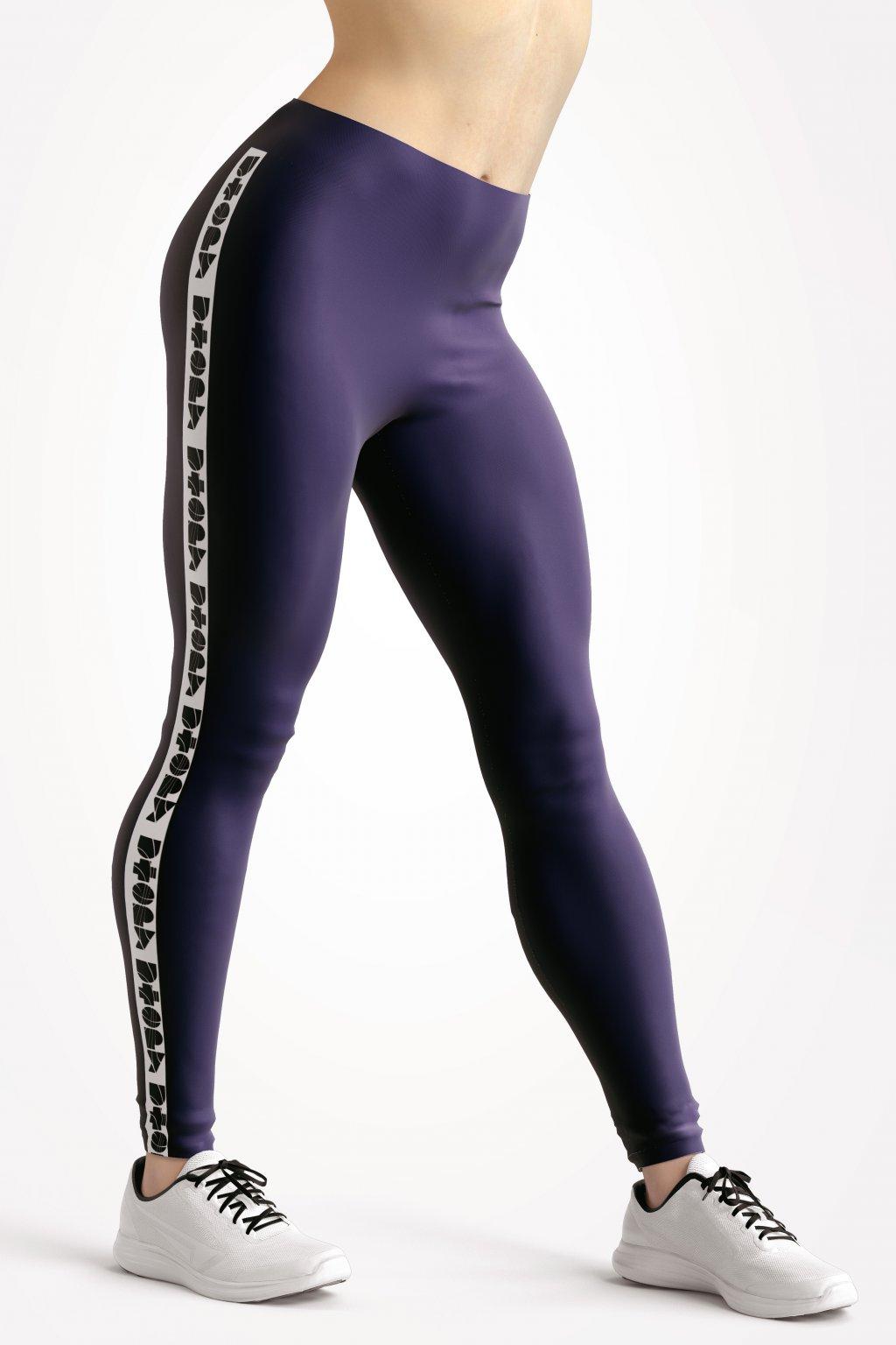 basic collection blue utopy leggings front by utopy v2