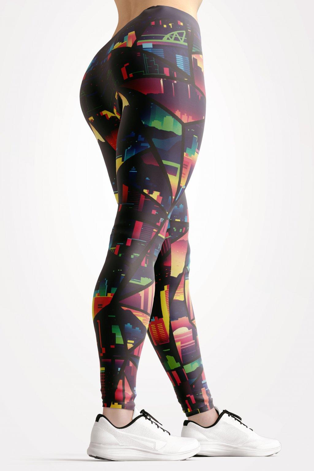 citiy of dawn leggings back by utopy