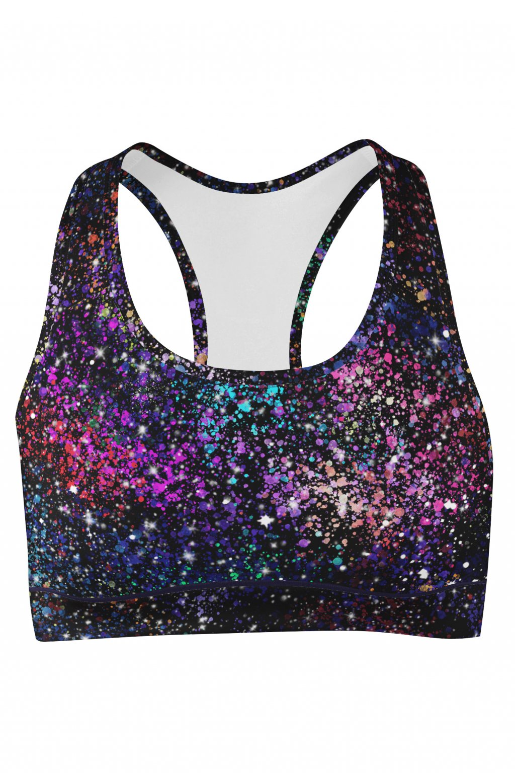 galaxy sport bra front by utopy