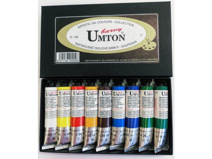 Sada olejových barev UMTON 9 x 20ml