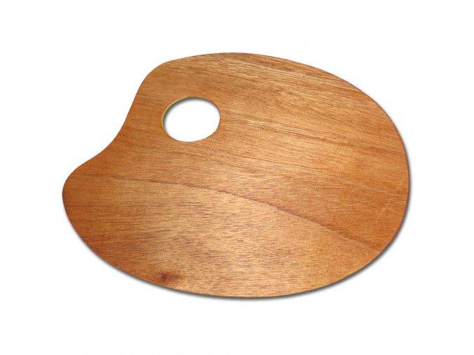 Paleta malířská dřevěná 18 x 24cm