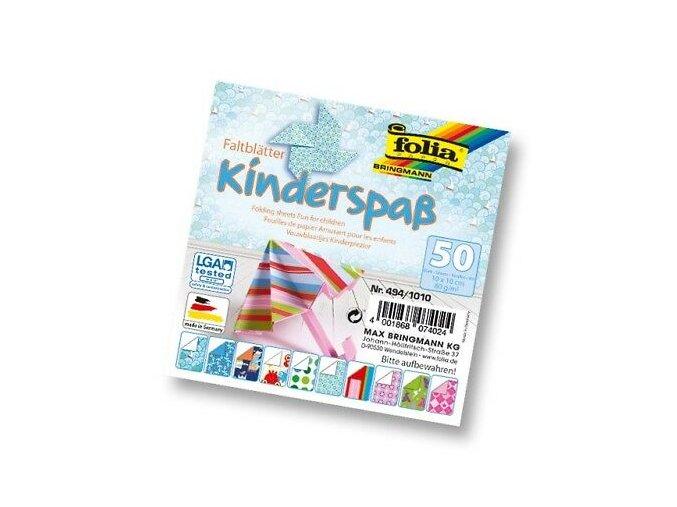 Folia Faltblätter Kinderspass 10 X 10 Cm 50