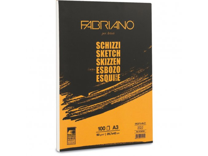 Fabriano skicák lepený