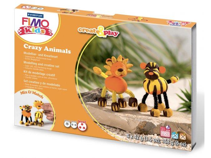 FIMO kids sada Create & Play LEV a TYGR