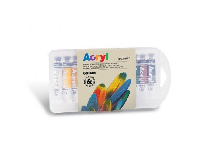 akrylove barvy sada 12x75ml