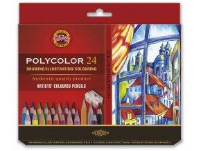 souprava umeleckych pastelek 24