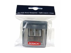 to 1482 derwent manual twin hole pencil sharpener 1