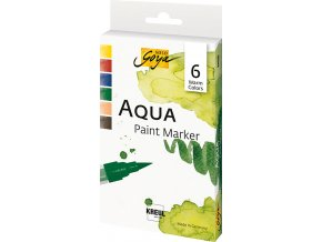CK18185 SOLO GOYA Aqua Paint Marker Warm Colors Set