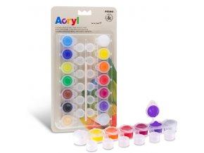 akrylove barvy na blistru