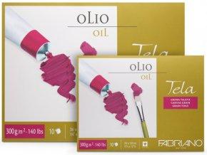 FABRIANO Tela - blok na olej a akryl 300g/m2