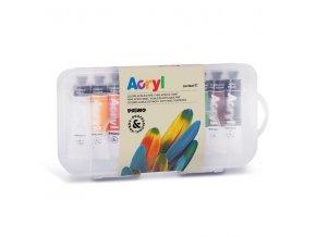 akrylove barvy primo sada 12x18ml