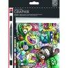 Marabu Aqua pen Graphix - sada 12ks Mega Wash