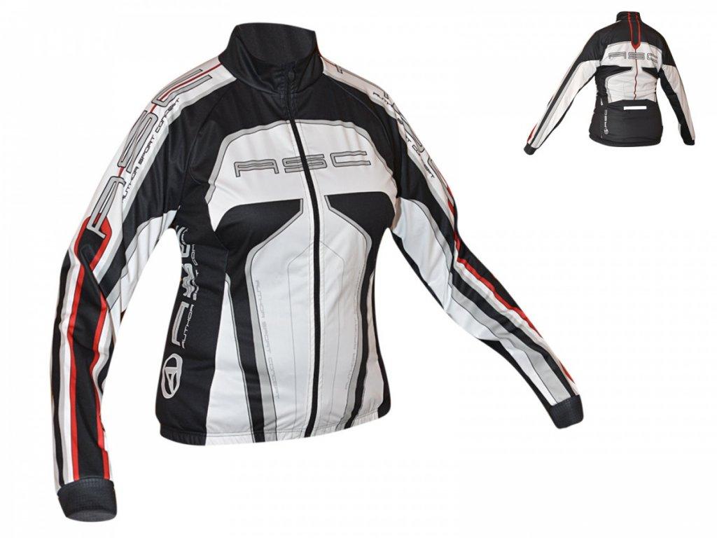 AUTHOR Bunda Lady Sport Blazer L (12B bílá/černá/červená)