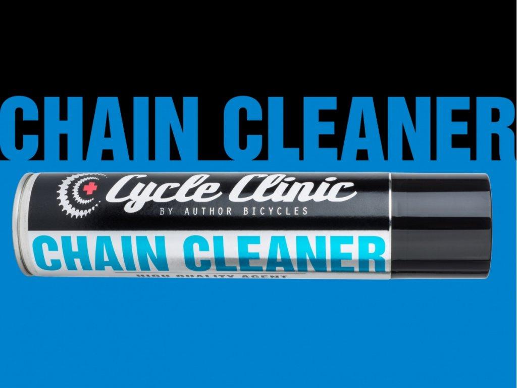 AUTHOR Čistič Cycle Clinic Chain Cleaner aerosol 400 ml  (černá)