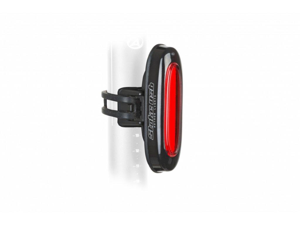 AUTHOR Světlo zad. A-Stake USB 20lm  (černá/čiré-sklo)
