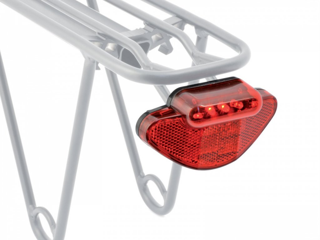 AUTHOR Světlo zad. A-Caddy 5   (černá/červené-sklo)