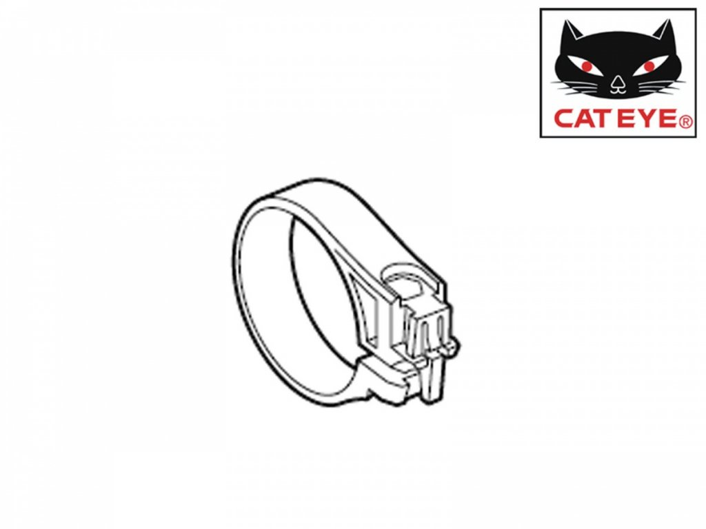CATEYE Držák CAT pro cyklopočítač Quick (#1604990)  (černá)