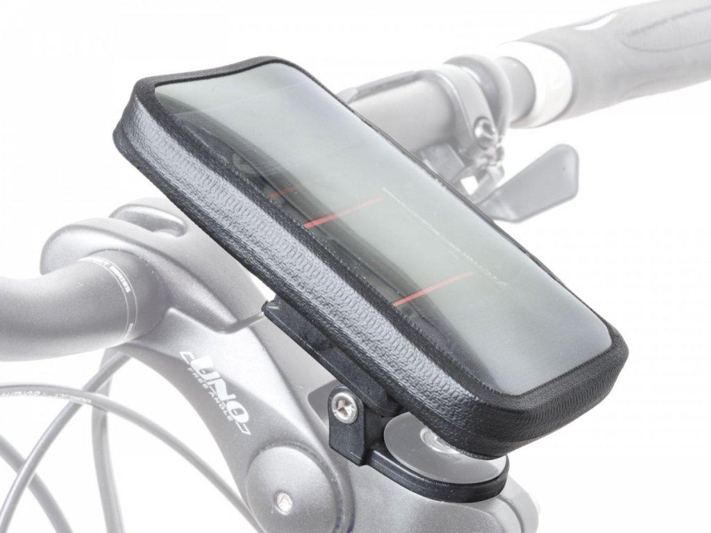 AUTHOR Brašna na představec na telefon I-Shell 135 x 70 mm (černá)