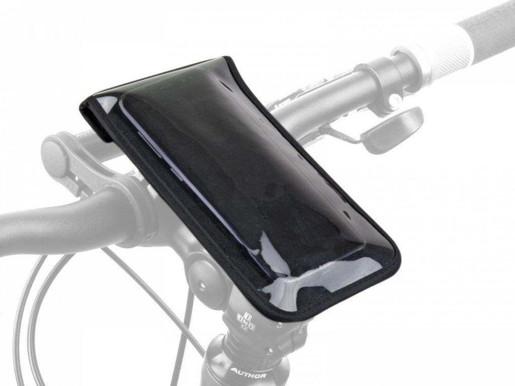 AUTHOR Brašna na představec na telefon A-H900 165 x 95 mm (černá)