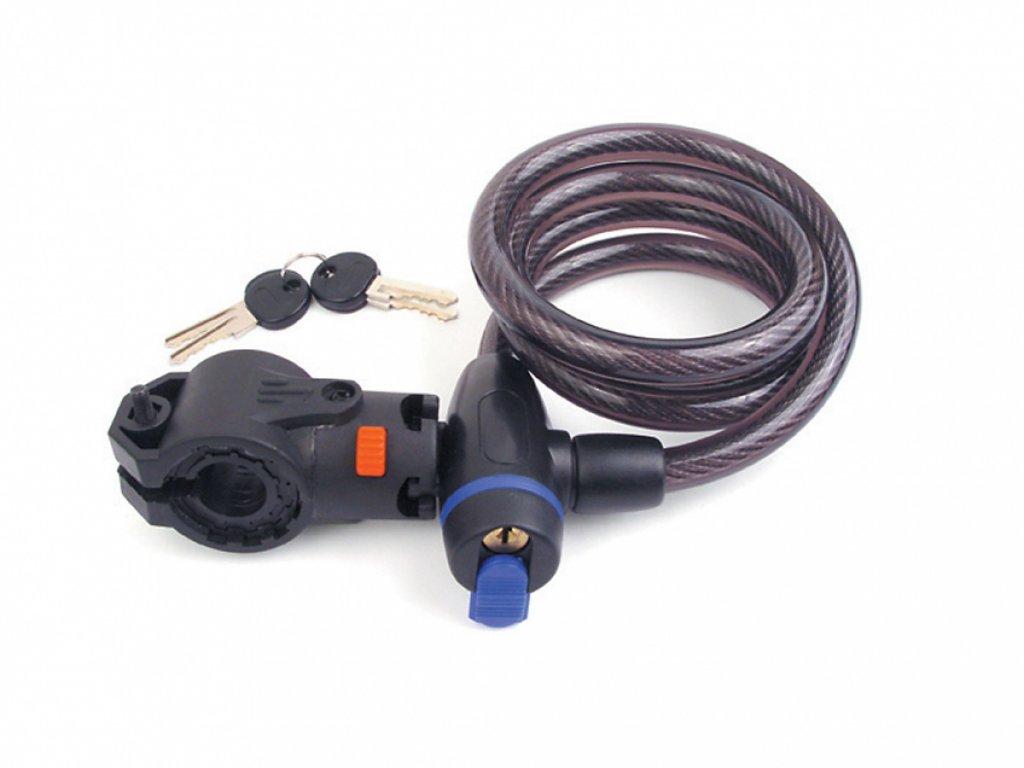 AUTHOR Zámek ASL-35 spir  d.12x1200mm (kouřová)