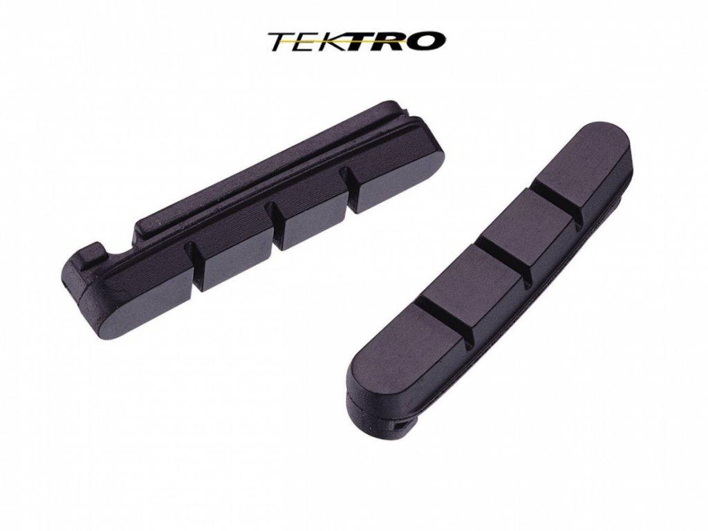 TEKTRO Botky TK-P422.11 výměnné gumy  (černá)