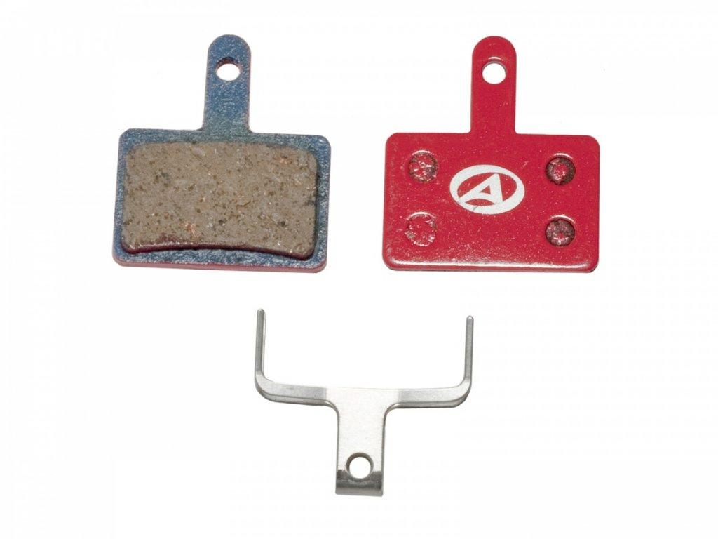AUTHOR Brzdové destičky ABS-23 Shi B01   (červená)