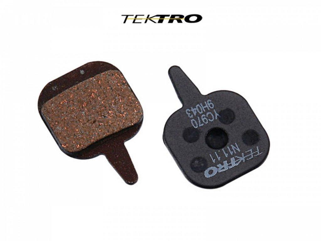 TEKTRO Brzdové destičky TK-N11.11 - IO (2ks)  (černá)