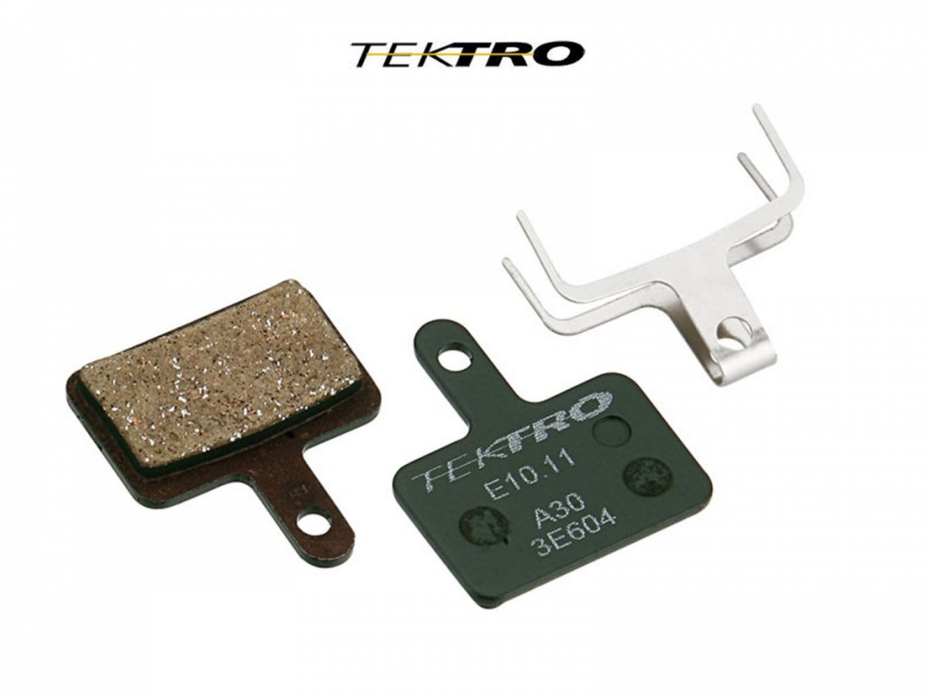 TEKTRO Brzdové destičky TK-E10.11 - AQUILA (2ks)  (zelená)