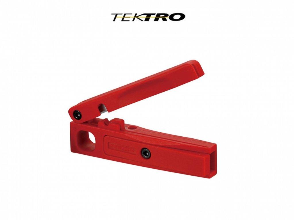 TEKTRO TEKTRO řezačka na brzdové hadice  (červená)