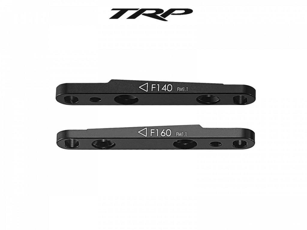 TEKTRO Adaptér Flat mount přední  (černá)