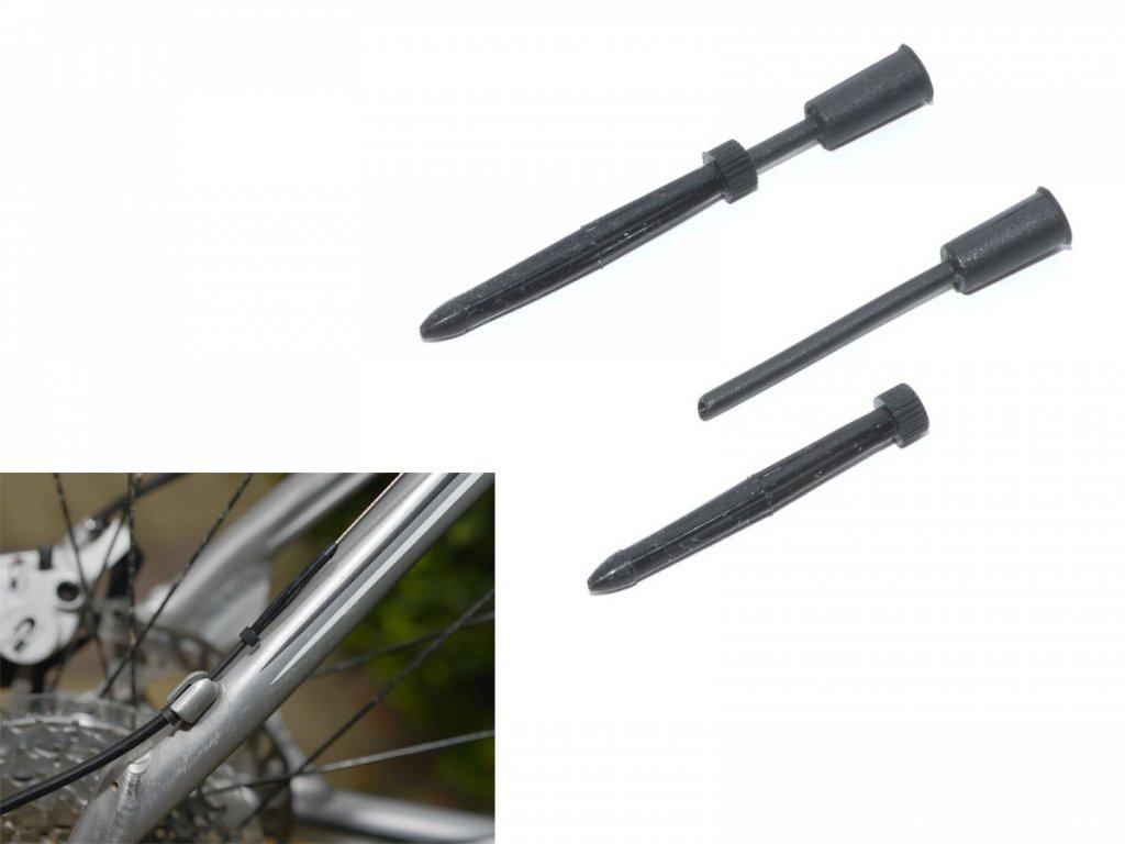 AUTHOR Koncovka bovdenu ABS-Kb-01S 4mm (100ks v bal)  (černá)