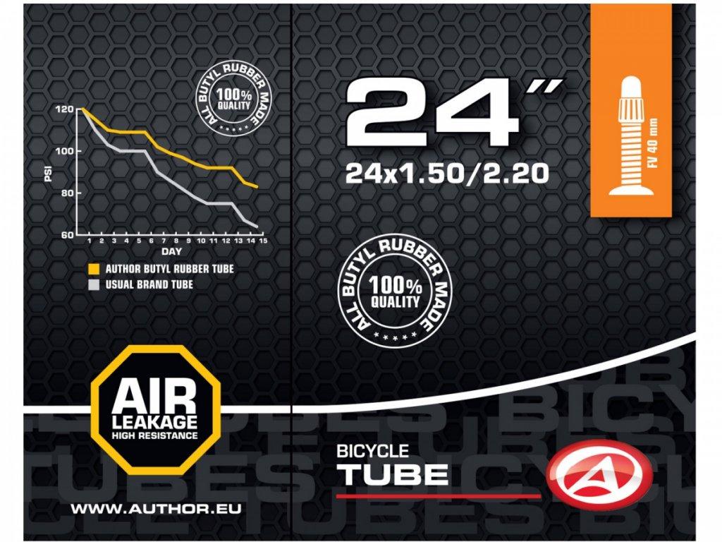 """AUTHOR Duše AT-CMP-24"""" FV40 24x1.50/2.20 (černá)"""
