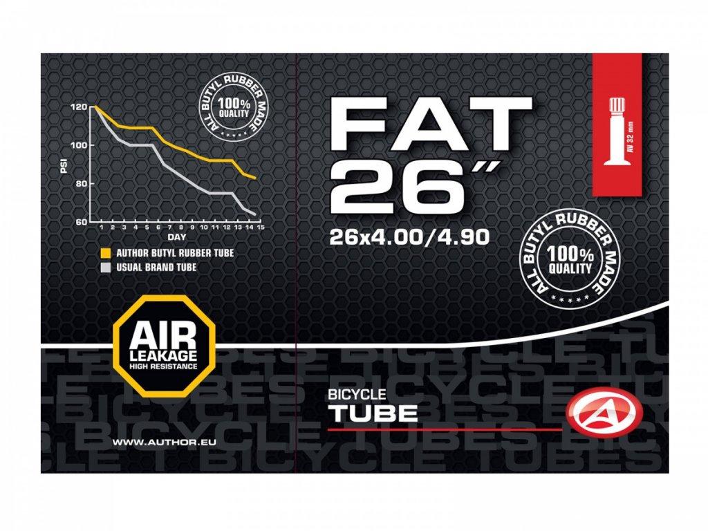 """AUTHOR Duše AT-MTB-26"""" Fat AV32 26x4.00-4.90 (černá)"""
