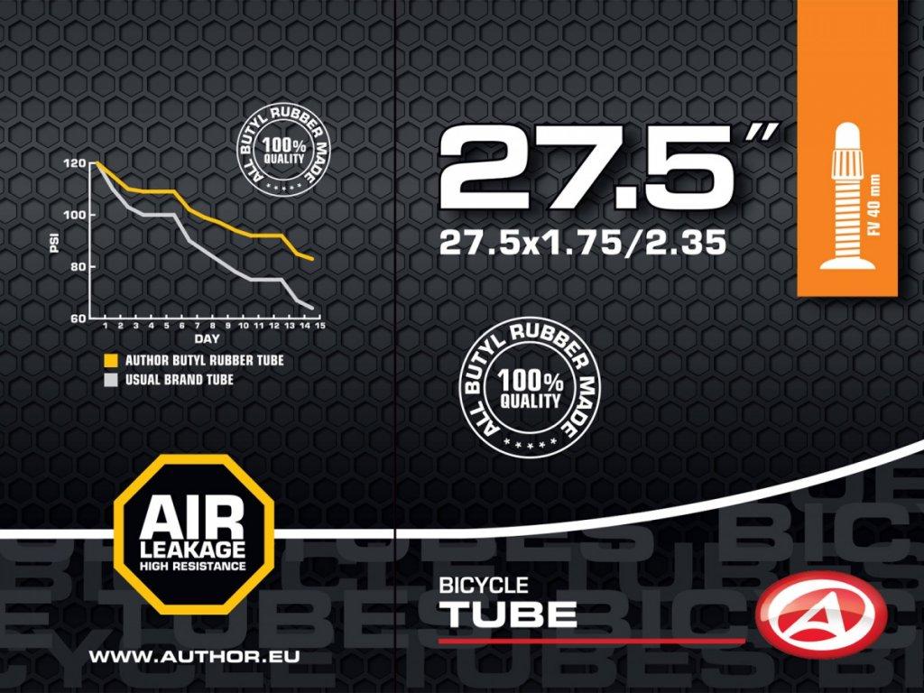 "AUTHOR Duše AT-MTB-27,5"" FV40 27.5x1.75/2.35 (černá)"