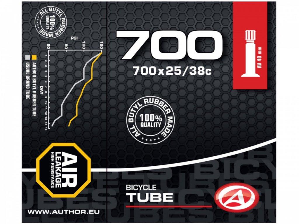 AUTHOR Duše AT-CROSS-700C AV40 700x25/38C (černá)
