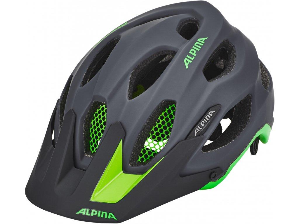 Alpina Carapax Helmet charcoal green[1920x1920]