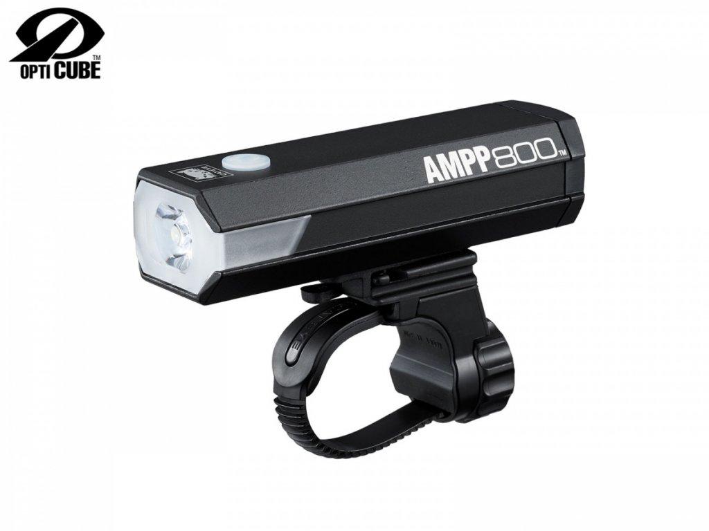 CATEYE Světlo př. CAT HL-EL088RC AMPP800  (černá)