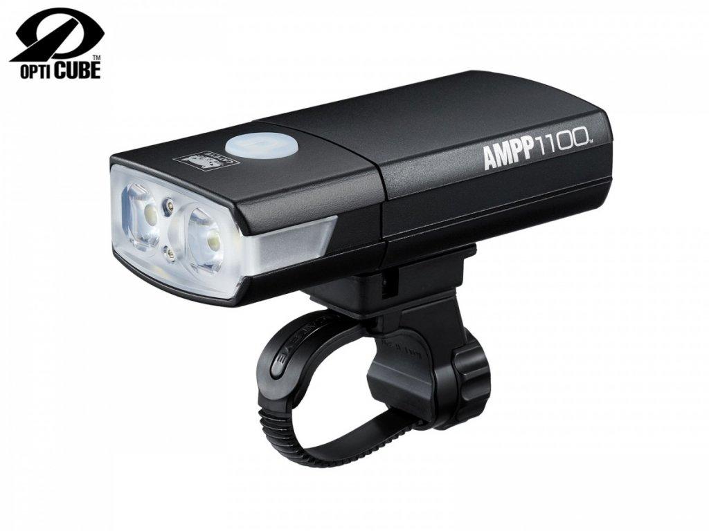 CATEYE Světlo př. CAT HL-EL1100RC AMPP1100  (černá)