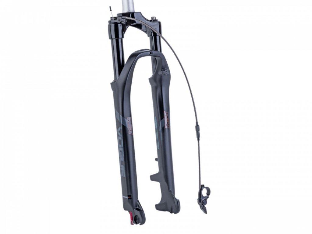 RST Vidlice RST Vogue Air-TRL 20/Taper DISK 80mm (černá-matná)